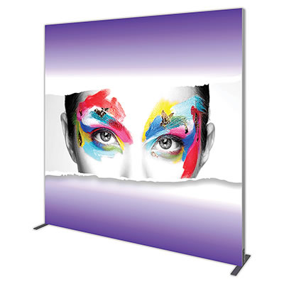 Groovy Wall™ Single-Sided Square Light Box S-04 Side View