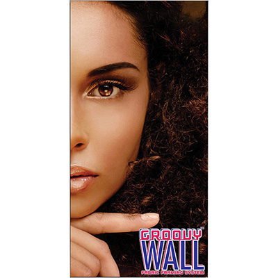 3' x 6' Groovy Wall™ Perfect Edge Hanging Fabric Frame System