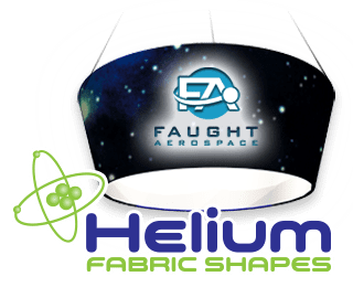Helium Hanging Fabric Structures Logo