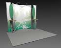 Linear Trade Show Displays from beautifulDISPLAYS.com