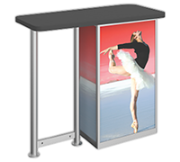 Linear™ Straight Leg Counter