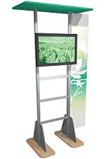 Linear™ 02 Aluminum Extrusion Kiosk Display