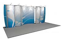 Linear™ Lite 02 10' x 20' Aluminum Extrusion Display