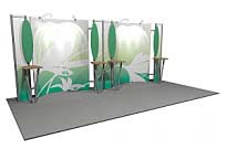 Linear™ Lite 04 10' x 20' Aluminum Extrusion Display
