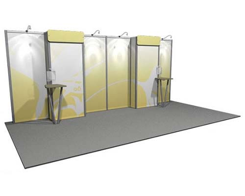 Linear™ Lite 06 10' x 20' Aluminum Extrusion Display