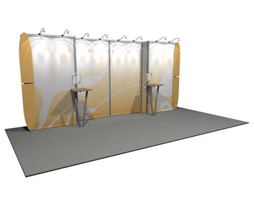 Linear™ Lite 08 10' x 20' Aluminum Extrusion Display