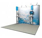 Linear™ Standard 01 10' x 10' Aluminum Extrusion Display