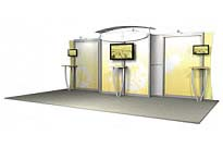 Linear™ Standard 06 10' x 20' Aluminum Extrusion Display