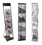 Literature Racks and Brochure Displays from BeautifulDisplays