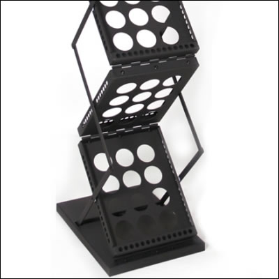 ZedUp Brochure Rack (base detail)
