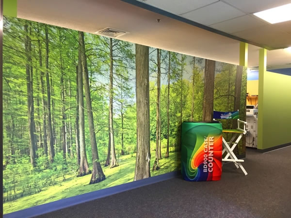 Custom Wall Graphics Printing Services beautiful DISPLAYS