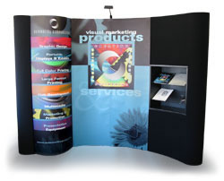 Detachable Photomural Trade Show Graphic Panels from beautifulDISPLAYS.com