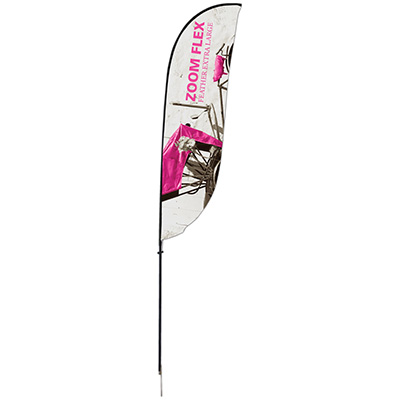 Extra Large Zoom 'Feather' Outdoor Flag