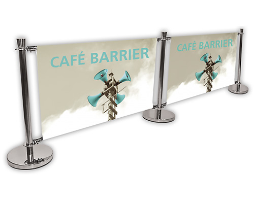 Extension Kit for Cafe Barrier Detail