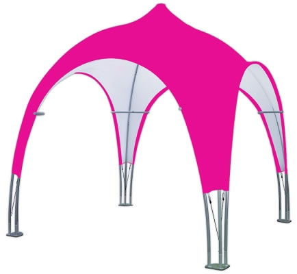 Tubular 10u0027 Dome Tent With Full Color Printed Top  sc 1 st  beautiful DISPLAYS & Custom Printed Pop Up Tents | Pop Up Tent Accessories