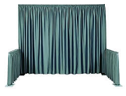 Standard SnapDrape® Pipe and Drape Systems from BeautifulDisplays.com