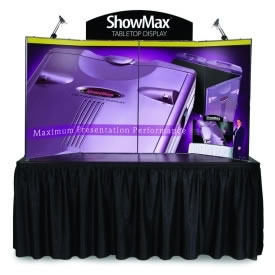 ExpoGo Prezenta Showmax Self-Packing Tabletop Display