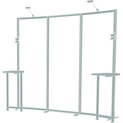 10ft. x 10ft. Display Kit 01 Frame Detail