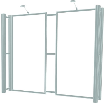 10ft. x 10ft. Display Kit 05 Frame Detail