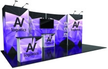 Nimlok® Hybrid Pro™ Modular 10ft. x 20ft. Display Kit 10