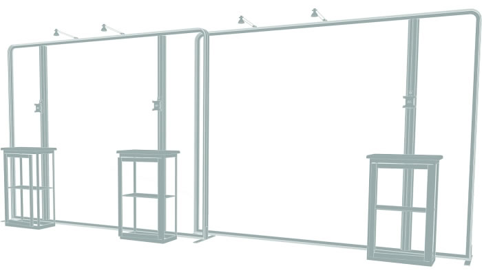 10ft. x 20ft. Display Kit 14 Frame Detail