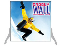 2' x 2' Groovy Wall™ Perfect Edge Free-Standing Fabric Frame System