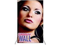 3' x 5' Groovy Wall™ Perfect Edge Free-Standing Fabric Frame System