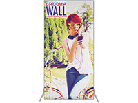 3' x 6' Groovy Wall™ Perfect Edge Free-Standing Fabric Frame System