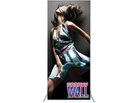 3' x 7' Groovy Wall™ Perfect Edge Free-Standing Fabric Frame System