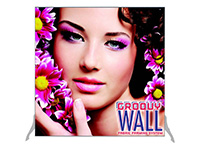 4' x 4' Groovy Wall™ Perfect Edge Free-Standing Fabric Frame System