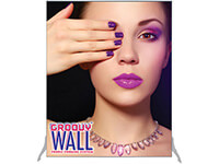 4' x 5' Groovy Wall™ Perfect Edge Free-Standing Fabric Frame System