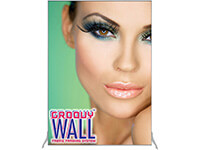5' x 7' Groovy Wall™ Perfect Edge Free-Standing Fabric Frame System