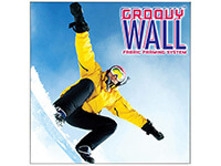 2' x 2' Groovy Wall™ Perfect Edge Wall Mounted Fabric Frame System