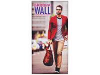 2' x 4' Groovy Wall™ Perfect Edge Hanging Fabric Frame System