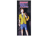 2' x 5' Groovy Wall™ Perfect Edge Hanging Fabric Frame System
