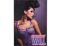 3' x 4' Groovy Wall™ Perfect Edge Wall Mounted Fabric Frame System