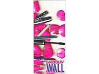 3' x 7' Groovy Wall™ Perfect Edge Hanging Fabric Frame System