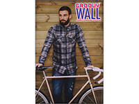 4' x 6' Groovy Wall™ Perfect Edge Hanging Fabric Frame System