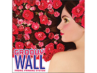 7' x 7' Groovy Wall™ Perfect Edge Wall Mounted Fabric Frame System