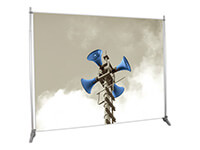 10' x 8' Dye-Sub Fabric Graphic and Telescoping Frame