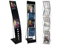 Brochure Display Stands & Trade Show Literature Displays