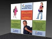Retractable Banner Stand Wall