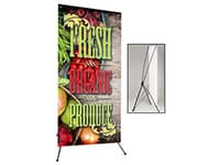 X-Banners (X-Frame Banner Stands)