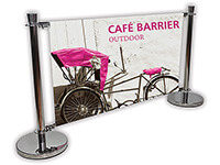 Graphic Barrier Banner Display Systems