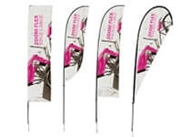 Outdoor Feather Flags, Graphics, Hardware, Stakes & Bases
