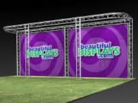 Aluminum Truss Trade Show & Exhibit Displays