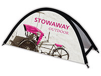 Stowaway Small Outdoor Popup Sign