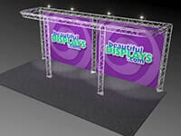 10' x 20' Trilok Truss Display Systems