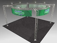 20' x 20' Trilok Truss Display Systems