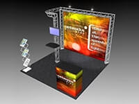 10' x 10' Truss Exhibit & Accessory Packages